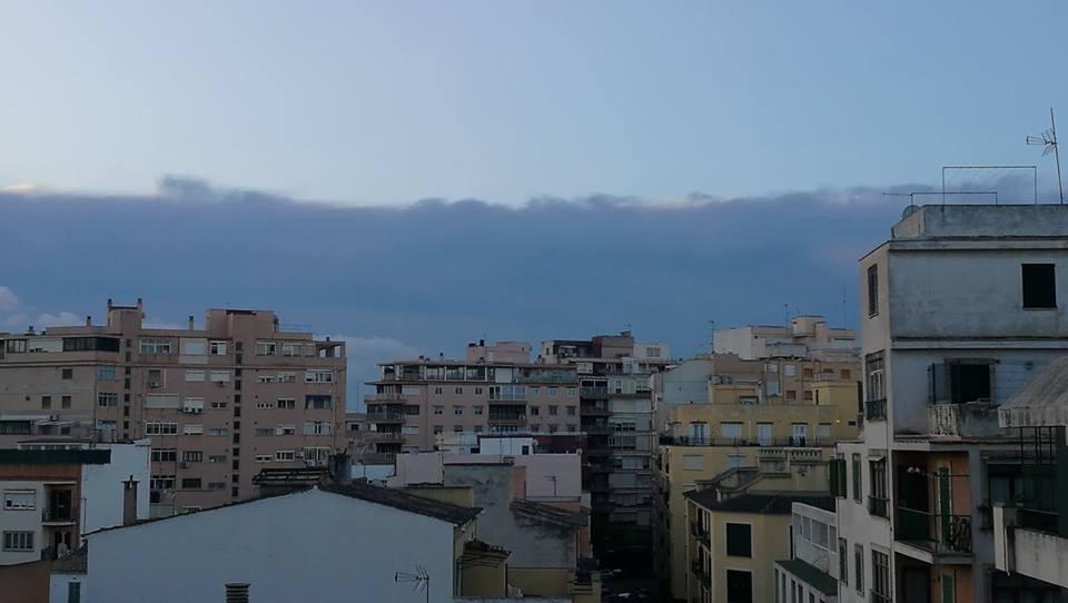 Gran ola de nubes - Palabras sencillas