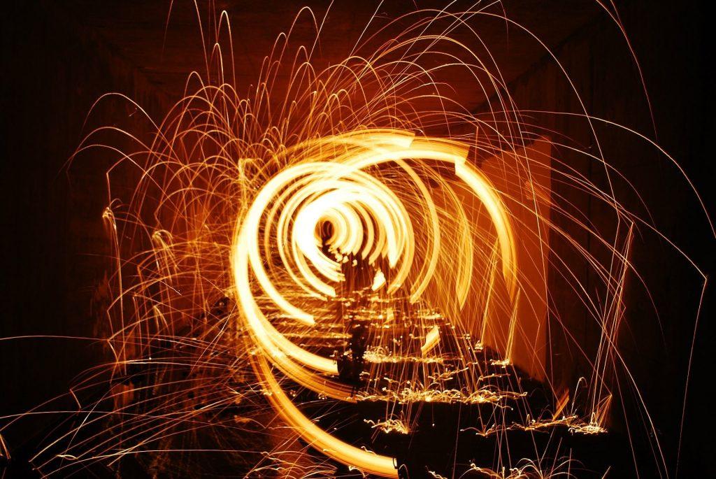 Espirales de fuego